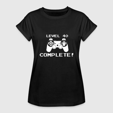Level 40 Complete - Women's Relaxed Fit T-Shirt