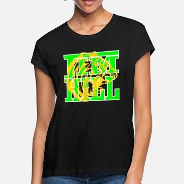 Green And Gold JIM HILL green and gold - Women's Loose Fit T-Shirt