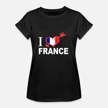I Love France I LOVE FRANCE - Women's Relaxed Fit T-Shirt