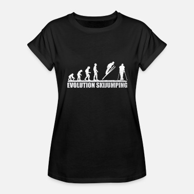 Skijump skijump ski jumping downhill - Women's Relaxed Fit T-Shirt