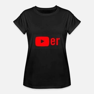 Youtube Video Youtuber - Women's Relaxed Fit T-Shirt