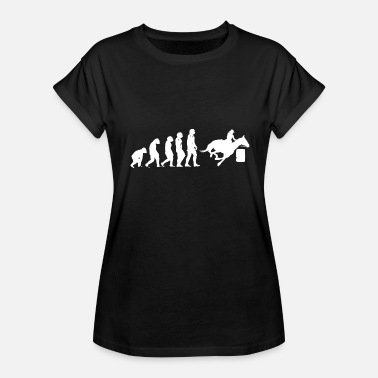 Barrel Racer Barrel Racing Barrel Racer. - Women's Relaxed Fit T-Shirt