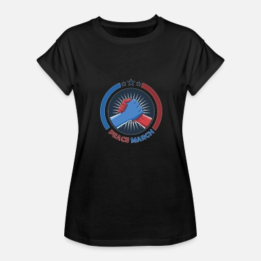 March For Civility PEACE MARCH - Women's Relaxed Fit T-Shirt