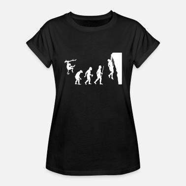 Rock Climbing Evolution Climbing - Evolution Rock Climbing - Women's Relaxed Fit T-Shirt