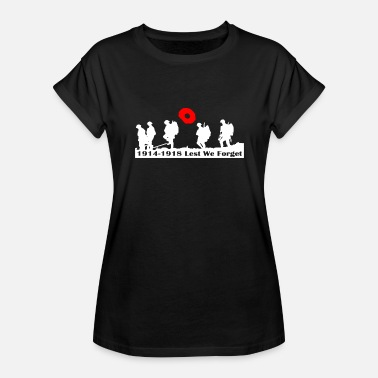 Remembrance REMEMBRANCE DAY - Women's Relaxed Fit T-Shirt