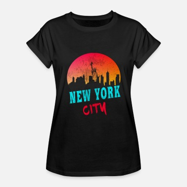 Big City Designs New York City retro design - Women's Relaxed Fit T-Shirt