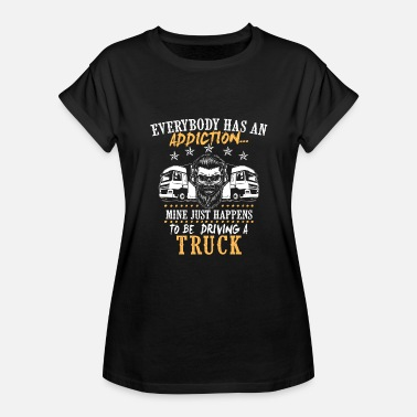 Road Transport Truck Shirt - Transport - addiction - Women's Relaxed Fit T-Shirt