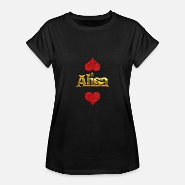 Alisa Alisa - Women's Relaxed Fit T-Shirt