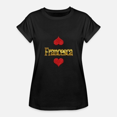 Francesca Francesca - Women's Relaxed Fit T-Shirt