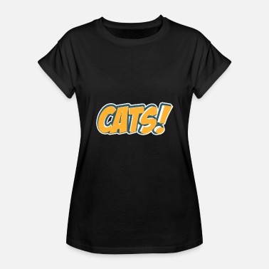 Comic Style Comic Style Cats - Women's Relaxed Fit T-Shirt