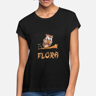Flora Flora Owl - Women's Loose Fit T-Shirt