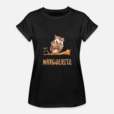 Marguerite Marguerite Owl - Women's Relaxed Fit T-Shirt