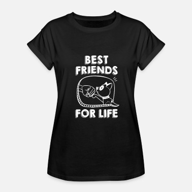 Geek Dog Best Friends For Life TShirt - Women's Relaxed Fit T-Shirt