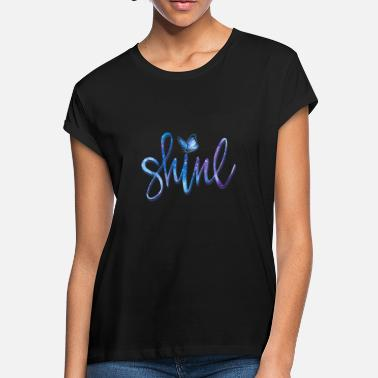 BUTTERFLY SHINE - Women's Loose Fit T-Shirt