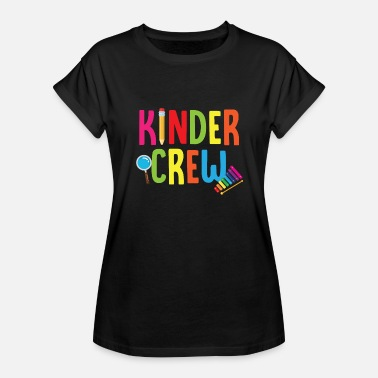 Kinders Kinder Crew - Women's Relaxed Fit T-Shirt