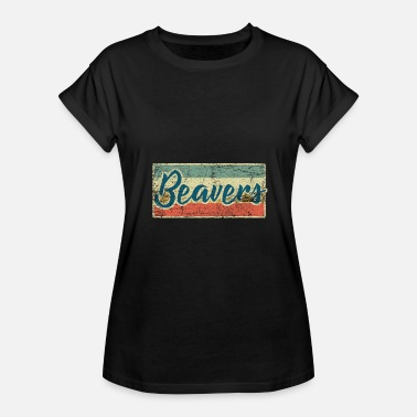 Beaver Tail Beaver - Women's Relaxed Fit T-Shirt