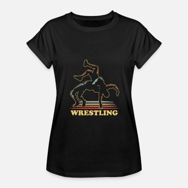 Wrestle Wrestling - Women's Relaxed Fit T-Shirt