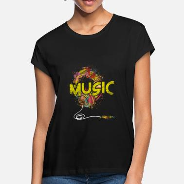 Music Club Music Genre Music Is Life Music Club Musical Gift - Women's Loose Fit T-Shirt