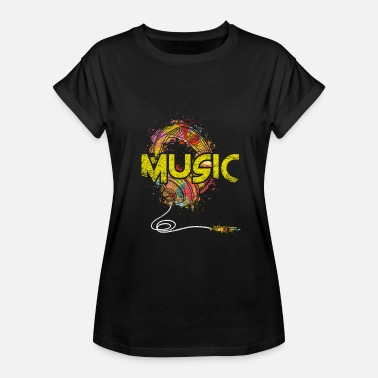 Club Music Music Genre Music Is Life Music Club Musical Gift - Women's Relaxed Fit T-Shirt