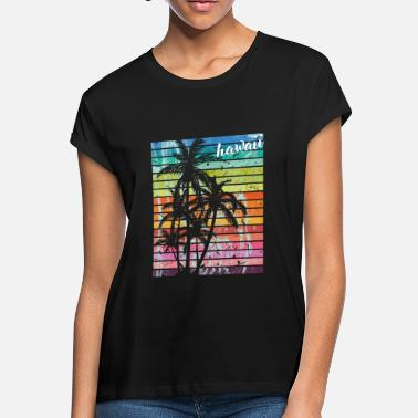 Vintage Hawaiian Aloha Hawaii Hawaiian Island Vintage Retro Gift - Women's Loose Fit T-Shirt
