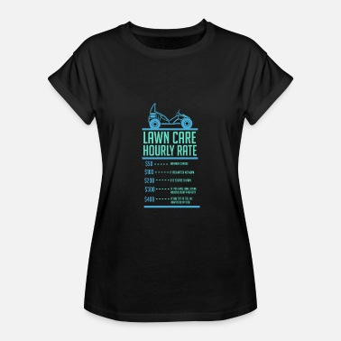 Lawn Mowing - Women's Relaxed Fit T-Shirt