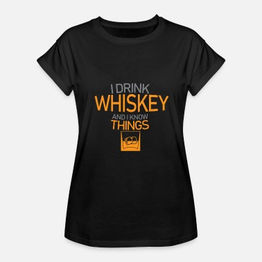 Whiskey Quotes Whiskey - Women's Relaxed Fit T-Shirt