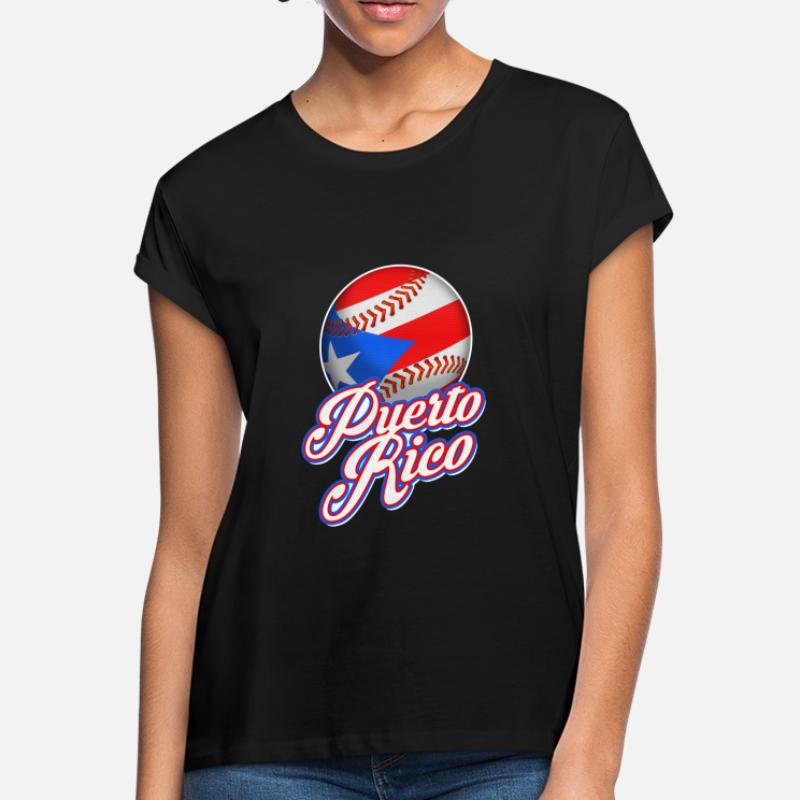 Shop Puerto Rico Baseball Flag T-Shirts online  c21f9ea582