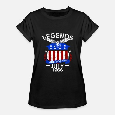 Born In July 1966 Legends Are Born In July 1966 - Women's Relaxed Fit T-Shirt