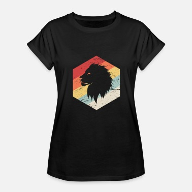 70s Retro Retro 70s Lion - Women's Relaxed Fit T-Shirt