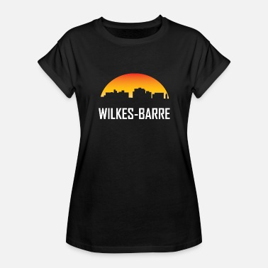 Wilk Wilkes-Barre Pennsylvania Sunset Skyline - Women's Relaxed Fit T-Shirt