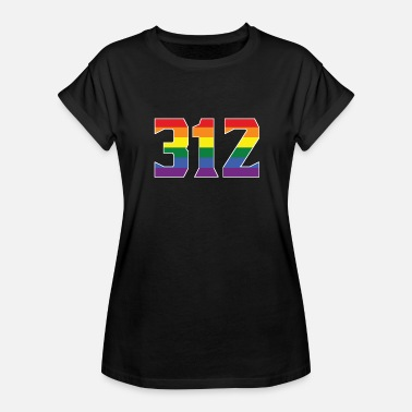 312 Chicago Gay Pride 312 Chicago Area Code - Women's Relaxed Fit T-Shirt