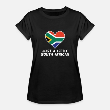 Half South African Just A Little South African - Women's Relaxed Fit T-Shirt