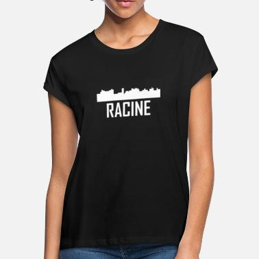 Racine Wi Racine Wisconsin City Skyline - Women's Loose Fit T-Shirt