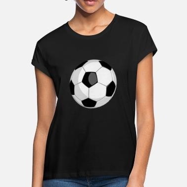 Soccer football soccer ball vector - Women's Loose Fit T-Shirt