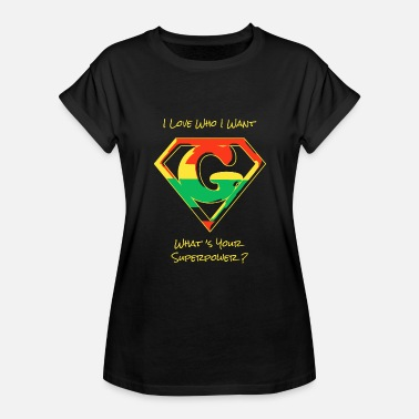 Will Herondale Hero - I Love Who I Want -- What's Your Superpow - Women's Relaxed Fit T-Shirt