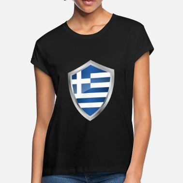 Ultras Emblem Greece - Women's Loose Fit T-Shirt