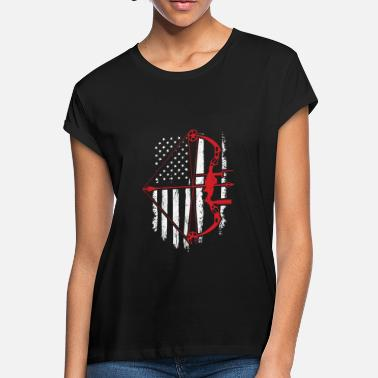 8d8fab7aa6a24 Men's T-Shirt. Bow Hunting Life. from $25.49 · BowHunter Distressed American  Flag - Women's Loose Fit ...