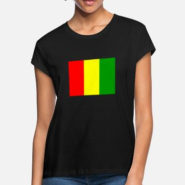 Gns Flag of Guinea (gn) - Women's Loose Fit T-Shirt