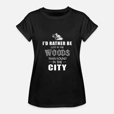 Found Logger - i'd rather lost in the wood than found - Women's Relaxed Fit T-Shirt