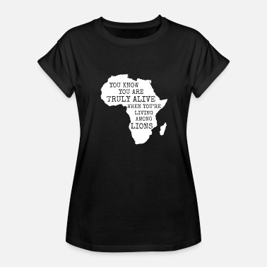 American Motors Art Africa - Africa - Women's Relaxed Fit T-Shirt