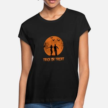 Salsa Club Trick Or Treat Halloween Salsa Dance Men Women - Women's Loose Fit T-Shirt
