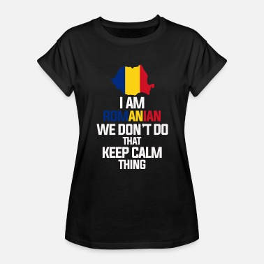 Romania Romania - Women's Relaxed Fit T-Shirt