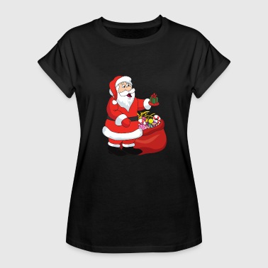 Dirty Santa Claus Funny Cool Cute Santa Claus Christmas Xmas - Women's Relaxed Fit T-Shirt