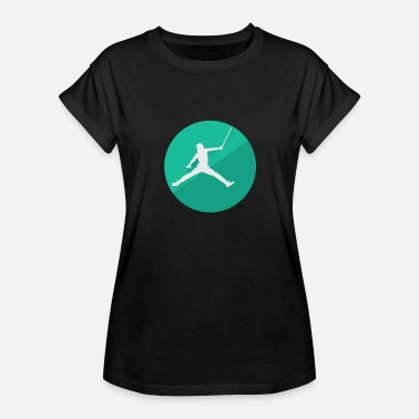 Movie Spoof Jordan Jumpman Air Vader Spoof - Women's Relaxed Fit T-Shirt