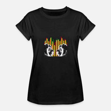 Reggae Lion Of Judah Reggae lions, lions of judah - Women's Relaxed Fit T-Shirt
