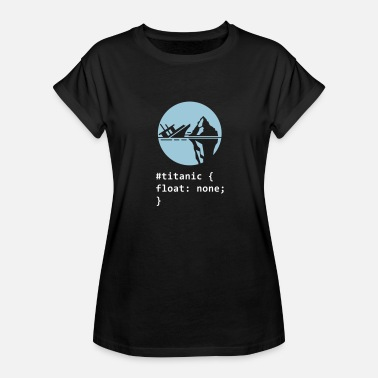 Iceberg Titanic - Women's Relaxed Fit T-Shirt