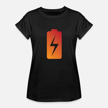 Recharge Battery Charging Status - Women's Relaxed Fit T-Shirt