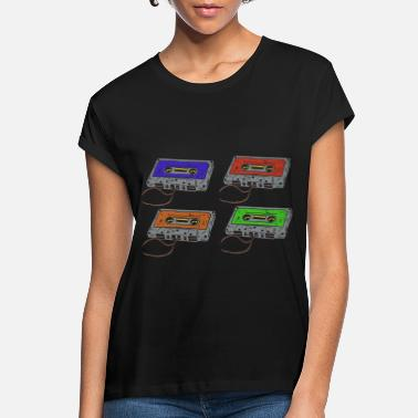Cassette Cassettes music cassettes - Women's Loose Fit T-Shirt
