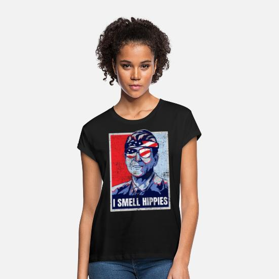 Smell T-Shirts - Ronald Reagan - Women's Loose Fit T-Shirt black