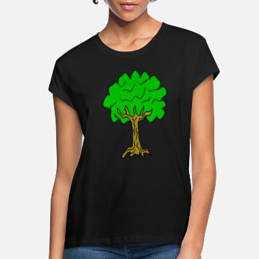 Linden Beautiful nature. Tree for environment and linden - Women's Loose Fit T-Shirt